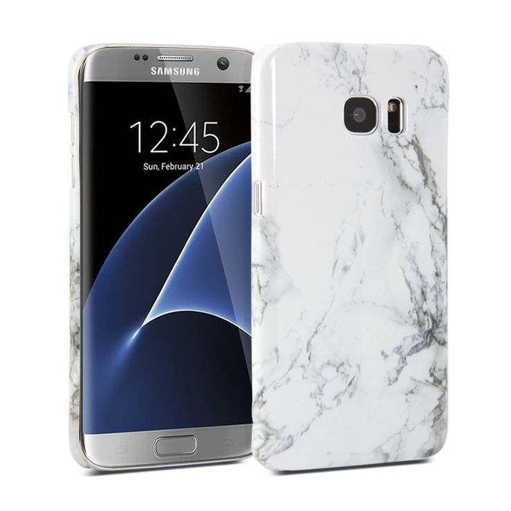 Snap Cover Glossy (Marble Pattern) for Samsung Galaxy S7 Edge