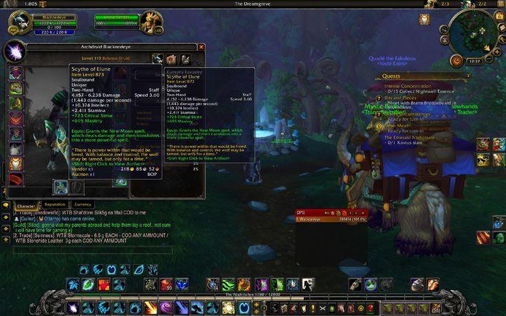 Artifact Weapon 873 within a week. #worldofwarcraft #blizzard #Hearthstone #wow #Warcraft #BlizzardCS #gaming