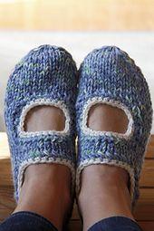 Ravelry: AK's slippers pattern by Anna Kaisa Piispanen
