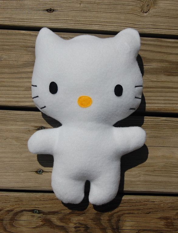hello kitty softie tutorial