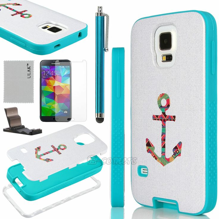 Anchor case for Galaxy S5  Ultra Thin Premium Hybrid Protective Case Cover for Samsung Galaxy S5 SV i9600