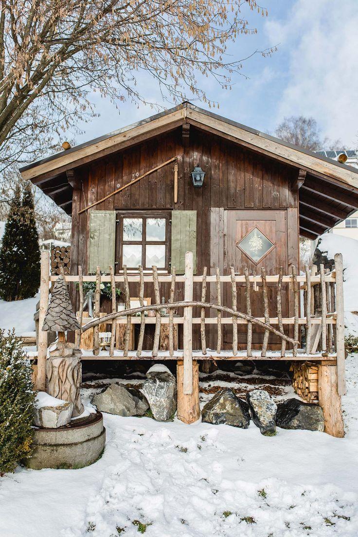 Romantische Hochzeiterhütte von Allgäu Weddings in Daxberg ❤️❤️❤️ Photo: Alexandra Sinz