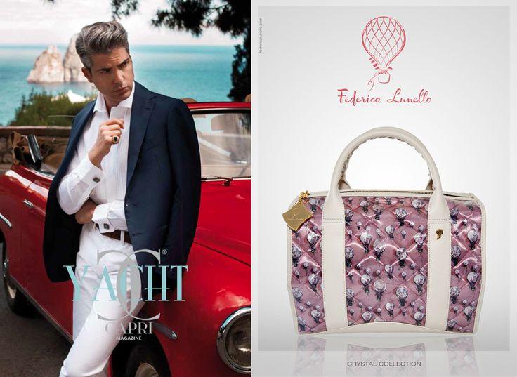 August 2014 - ADV su Yacth Capri www.federicalunello.com #federicalunello #bags #accessories #madeinitaly #handmade