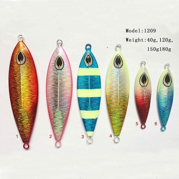 2pcs/lot New design fishing lead mold squid jig fishing lure lead sheet hard lure 40g/120g
