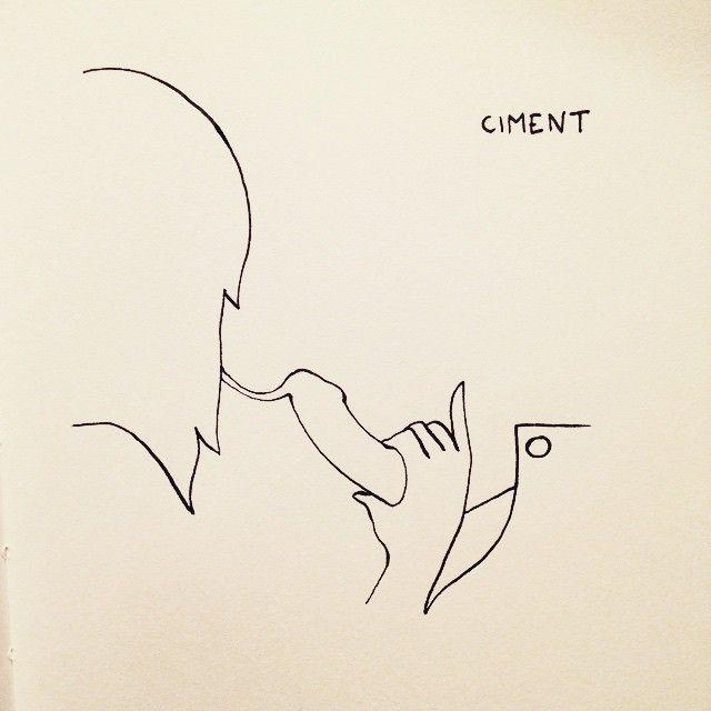 Concrete #drawing #draw #dessin #doodle #sketch #sketching #illustration #graphic #eroticdrawing #eroticart #luxure #érotisme #érotique #ink #love #hot #minimal #line #artwork #art
