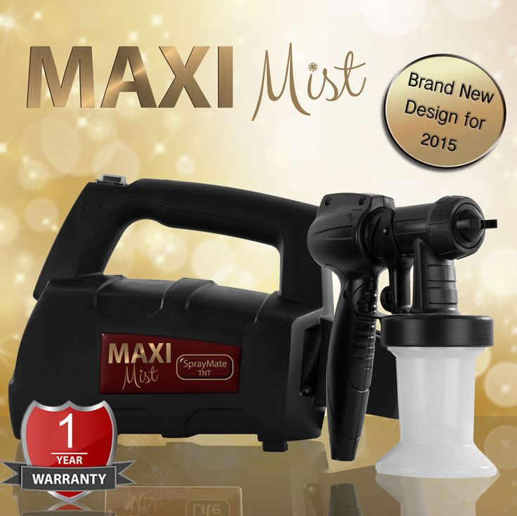 Maximist SprayMate TNT Designed for home/mobile use - Powerful 300 watts single stage turbine - 5 x 250ml Suntana tanning solution (our complete range – FREE) - 1 x 250ml bottle of Maximist organic gun cleaner - 1 year Maximist warranty - Includes 'TNT' applicator and 'Blow Dry' feature - £99.99 - £147.99 (prices include VAT and is dependant on number of applicators you wish to be included 1 -3 ) - http://www.suntana.com/product/maximist-spraymate-tnt/