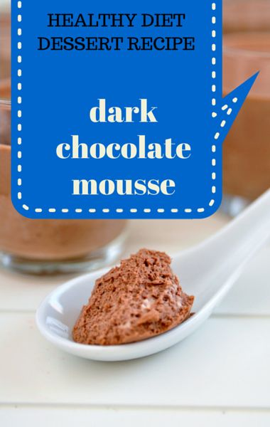 Avocado is the health secret ingredient in Dr Travis Stork's Dark Chocolate Mousse Recipe, which he shared in The Doctor's Diet Cookbook and on The Doctors. http://www.wellbuzz.com/the-doctors-tv-show/travis-stork-dark-chocolate-mousse-recipe-doctors-diet-cookbook/