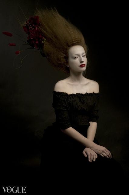 Lady,  (Vogue) via Flickr. Photographer: Louis Konstantinou