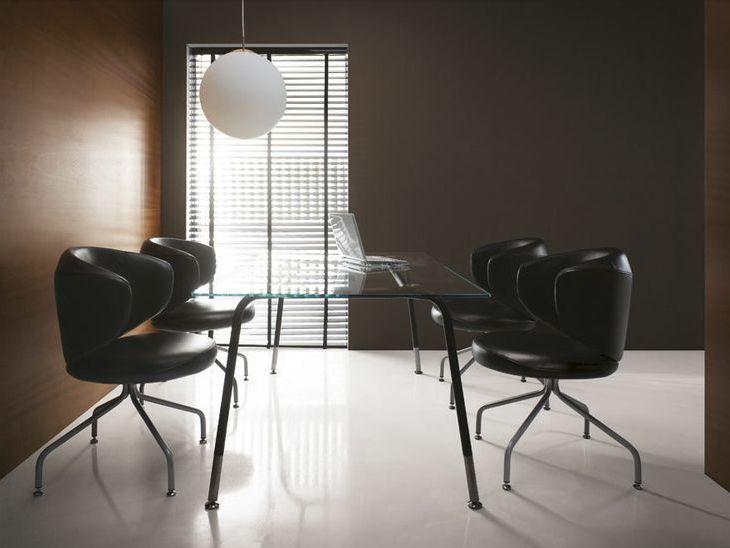Fotel konferencyjny CLUBIN #elzap #meblebiurowe #meble #furniture #poland #warsaw #krakow #katowice #office #design #officedesign #officefurniture #armchair #table #conference #conversation #lamp #minimalism #inspiration www.elzap.eu www.krzesla.krakow.pl www.meble-metalowe.com