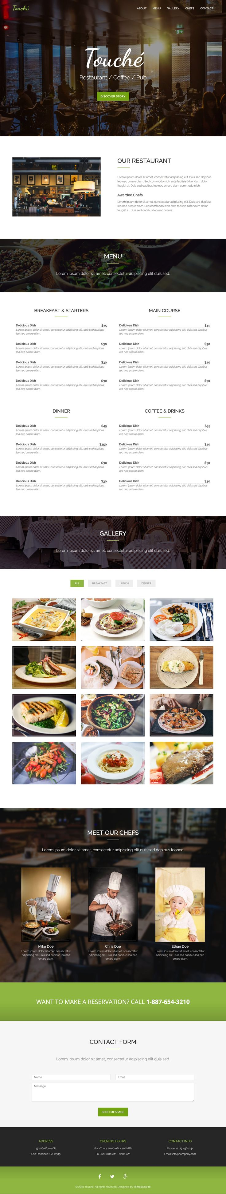 359 best images about one page website templates on pinterest
