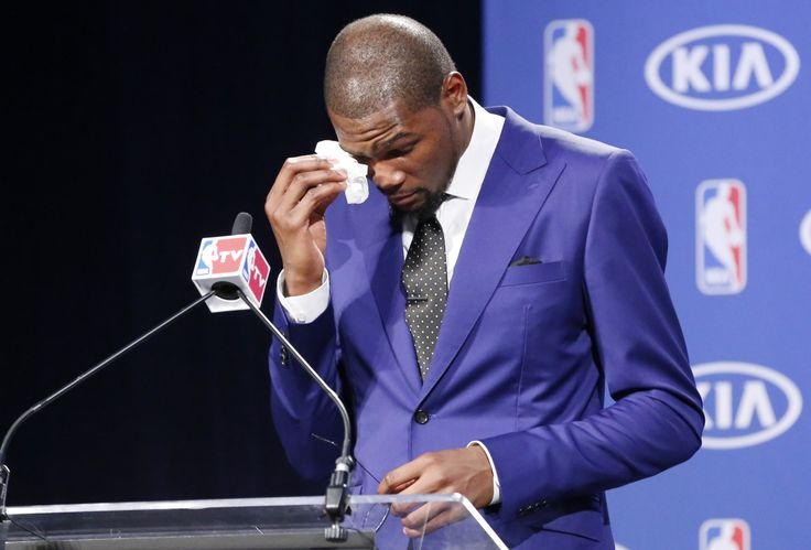 Watch Kevin Durant's powerful, emotional MVP acceptance speech  **I <3 me some him even more!!!**