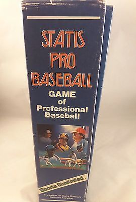 AVALON HILL 9240 STATIS PRO MAJOR LEAGUE GAME OF PROFESSIONAL BASEBALL - 1986