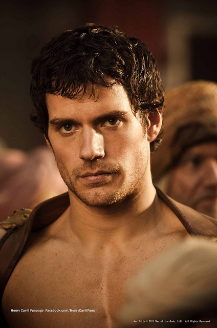 #Henry_Cavill - born 5/5/83 in Channel Islands, UK. 185cm tall. Actor. Theseus in 'Immortals' (2011), Charles Brandon in 'The Tudors' (Television - 2007), Humphrey in 'Stardust' (2007), Will in 'The Cold Light of Day' (2012), The Hunter in 'Red Riding Hood' (2006), Melot in 'Tristan and Isolde' (2006), Albert Mondego in 'The Count of Monte Cristo' (2002)