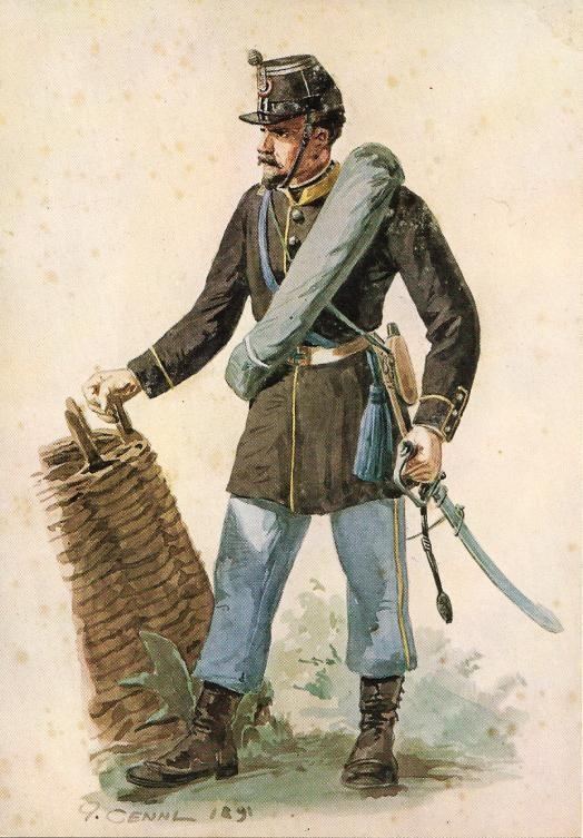 Regio Esercito - Luogotenente della Brigata Casale