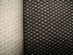 9 inch Netting - Metallic Silver
