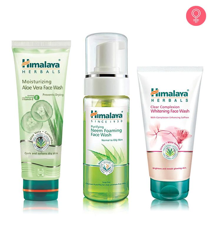 Skin Care Products From Himalaya Herbals Are Reliable Because Of Their Herbal Formulas Over The Years This Bran Face Wash Aloe Vera Face Wash Soften Dry Skin
