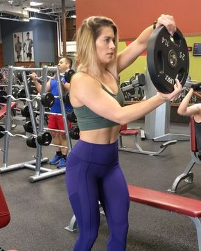 """12.7k Likes, 337 Comments - Whitney Simmons (@whitneyysimmons) on Instagram: """"Shoulder complex of DEATH to grow your shoulder boulder Complete all 3 movements, rest and…"""""""
