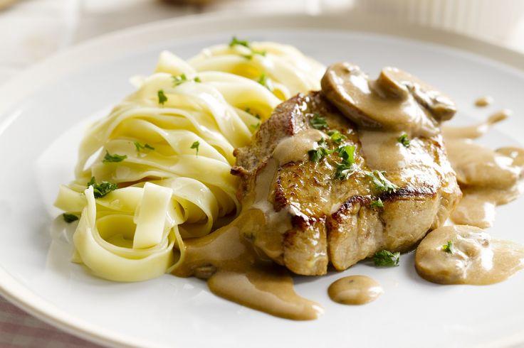 vleesgerecht - kalfsoesters, champignons, ... - Verwarm de oven voor op 180 °C.