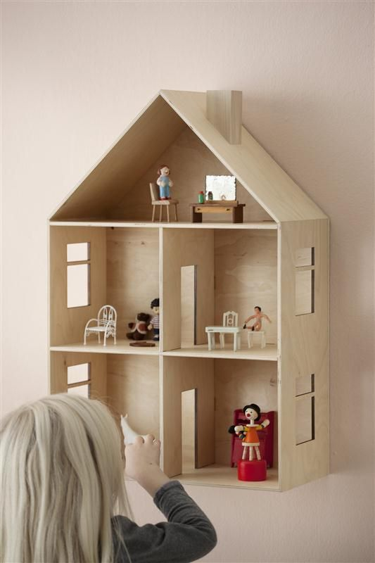 FERM LIVING - doll house (Crea Corner in Brussels has a similar one just without the windows)