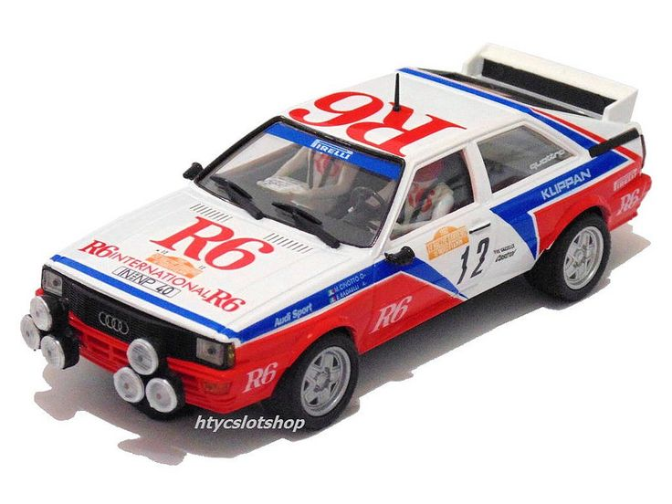 Audi Quattro GR.4 #12 Rally Sanremo 1982 Cinotto / Radaelli by Team Slot