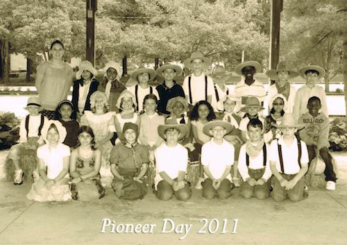 pioneer day. Love the idea of printing these in sepia tones for the kids. :) (Lots of pioneer activities on this site, too.)