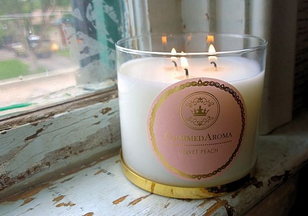 Charmed Aroma Candles Add Great Scent to the House with a Surprise Inside-Giveaway