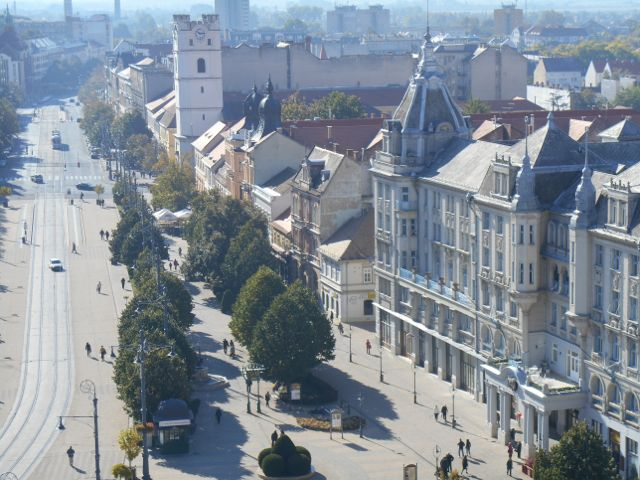 I visited Debrecen twice: Once on the way to Transsylvania and once on the way back.