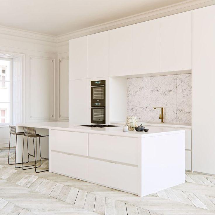 30++ Cuisine ikea blanche avec ilot ideas
