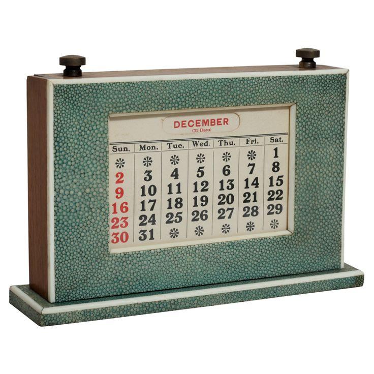 Perpetual Calendar Art Deco : Best images about vintage calendars on pinterest