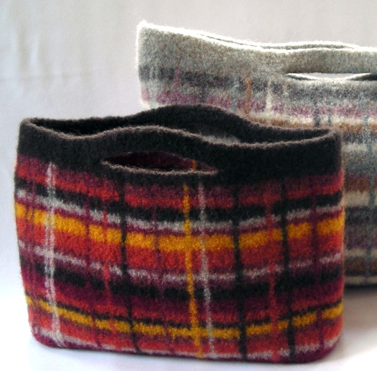 Excepcional Felted Purse Knitting Patterns Embellecimiento - Manta ...