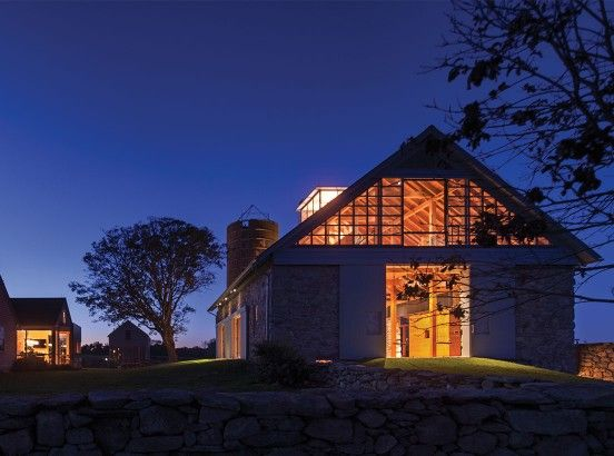 nowoczesna-STODOLA-Stone-Barn-at-a-Coastal-Farm-Bohlin-Cywinski-Jackson-03