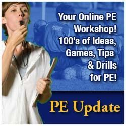 This website has a variety of resources such as lesson plans, and how to incorporate other subjects into physical education lesson plans.