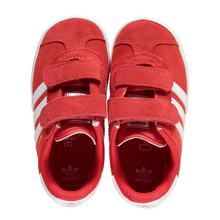 adidas gazelle rouge bebe