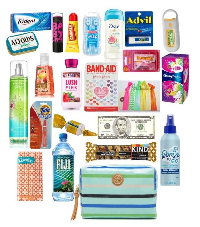 """Back to school survival kit"" by merrellkeely ❤ liked on Polyvore featuring Colgate, Isaac Mizrahi, Maybelline, MANGO, Carmex and Tory Burch"