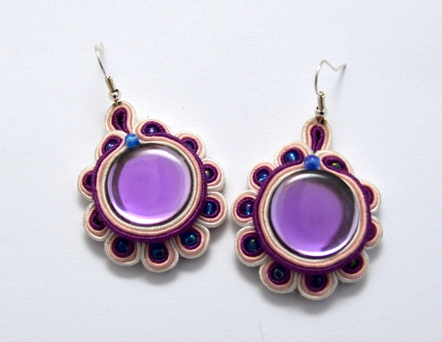kolczyki sutasz soutache earrings 28