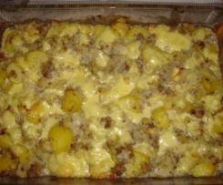 Spitzkohl Kartoffel Hackfleisch Auflauf - all in one