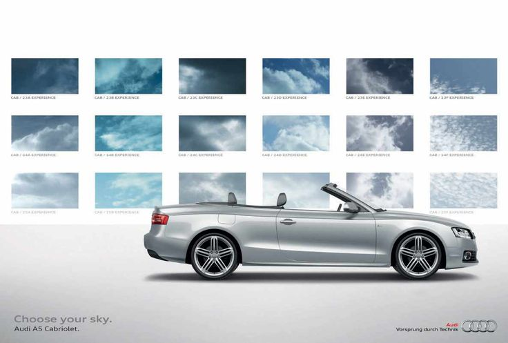 Audi A5: Choose your sky