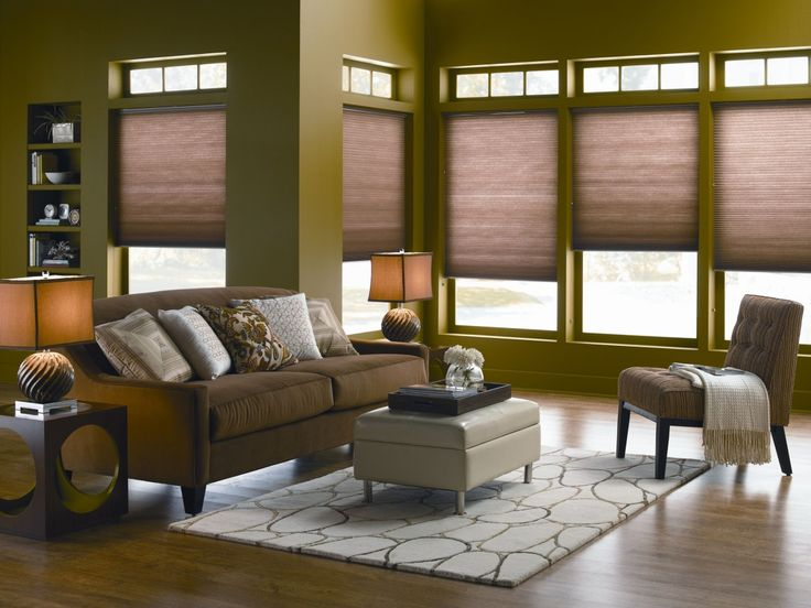gently filter light with cellular shades
