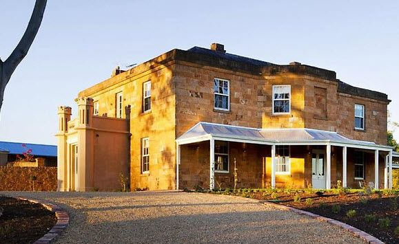 Drovers Run: The refurbished Kingsford Homestead, where McLeod's Daughters was filmed...