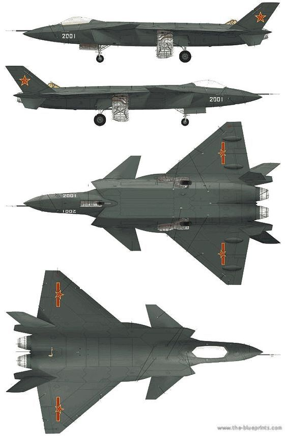Chinese J-20 Stealth Fighter: