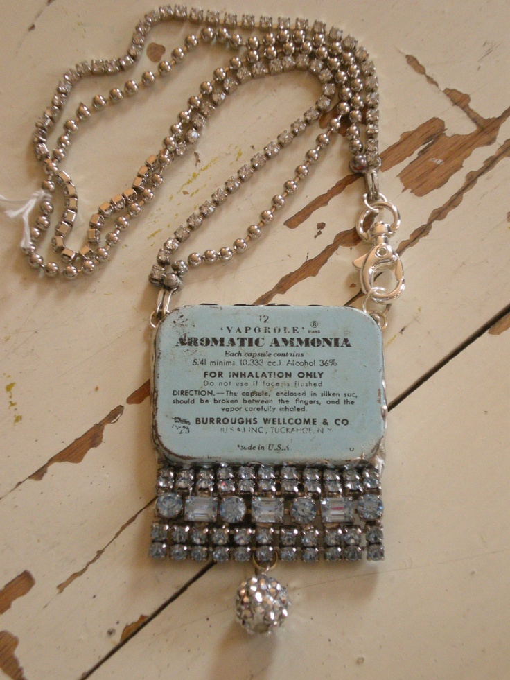 More upcycled jewelry. Luv it!!