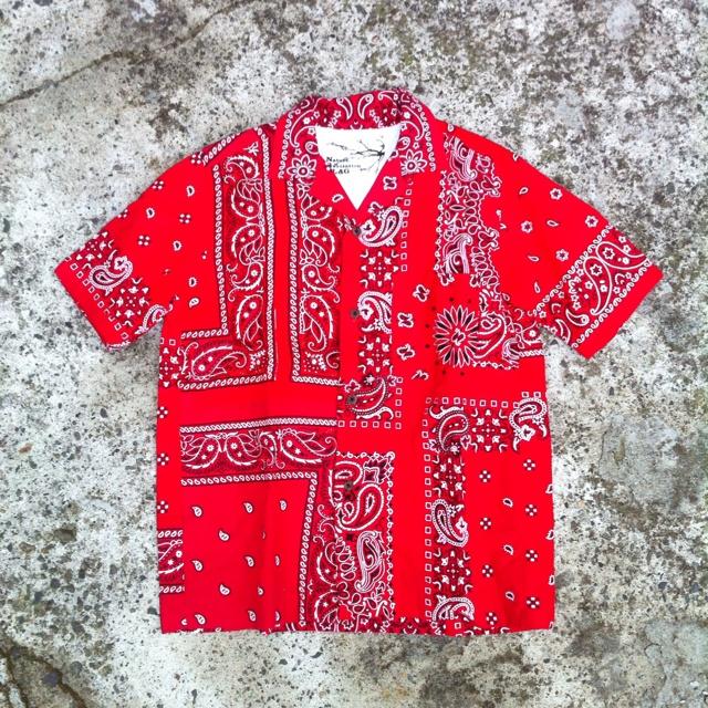 "NR.FLAG ""Re""Make Made in USA Bandana Shirts"