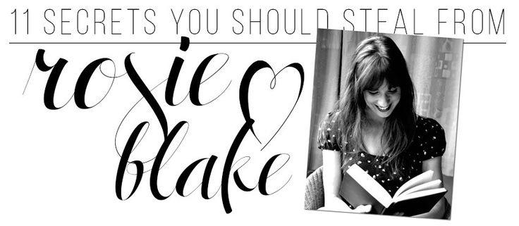 Rosie Blake's Beauty Secrets