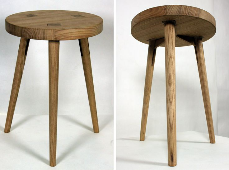 The Stool Disassembled, Easy To Transport And Store