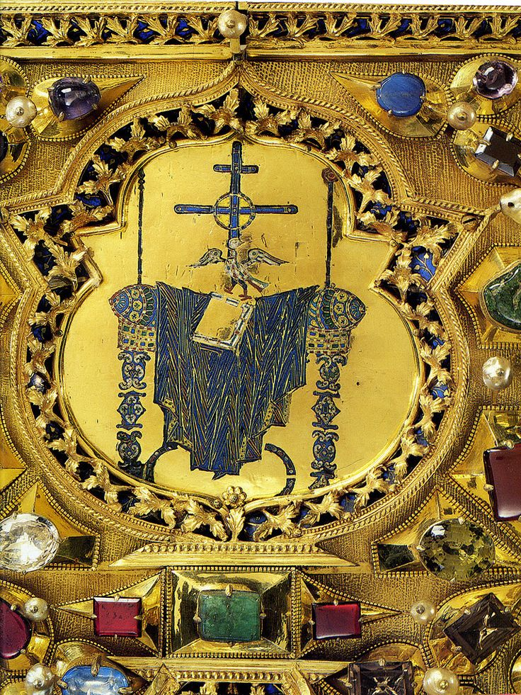 Pala d'Oro, detail: The empty throne or Hetoimasia | Flickr - Photo Sharing!