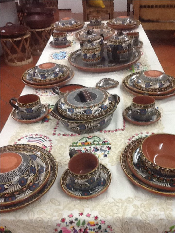 Vajillas de gres denby dinnerware duets black piece place for Vajilla moderna barata