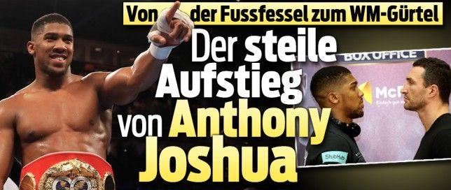 Joshua 18-fights 18x=Ko !! April-2017 vs Wladimir Klitschko
