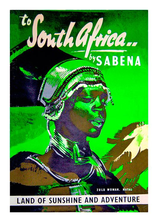 African Vintage Poster, available at 45x32cm. This poster is printed on matt coated 350 gram paper.