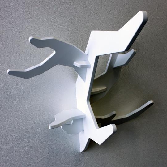 moderne regalwand holz taupe grau auschnitte