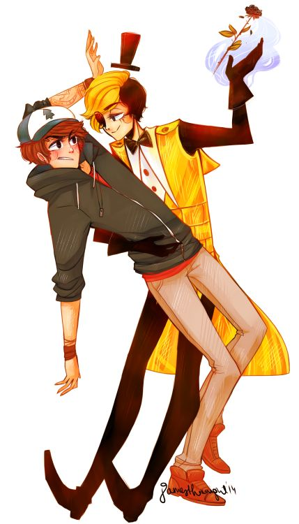 Gravity falls bill and dipper anime pesquisa google billdip pinterest for Farcical reversal